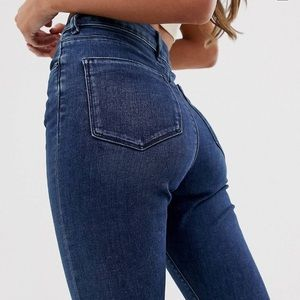 ASOS Jeans - ASOS Ridley high waisted jeans